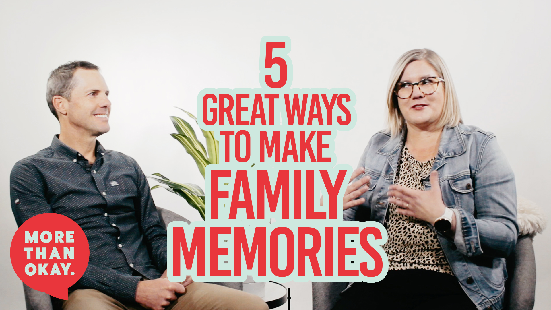 5 great ways to build family memories